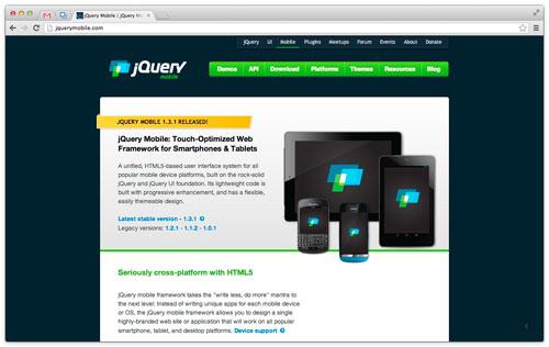 スマホ用フレームワーク jQuery Mobile ( JQM ) のメモ