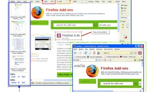 [ FireShot ] 画面をキャプチャして、矢印とか注釈とかを書き込める Firefox アドオンが便利!
