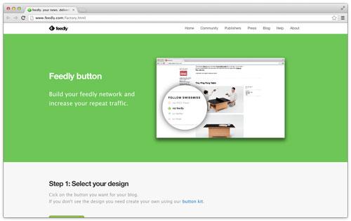 ブログに Feedly 登録ボタンを設置する方法と、RSS 購読者数の調べ方
