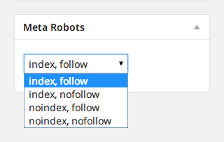 [ WordPress Meta Robots ] - 投稿個別に noindex を指定できる WordPress プラグイン