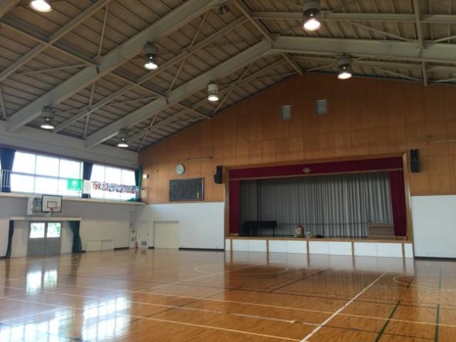川添おやじの会主催「第3回ドッジボール大会」と「焼き芋大会」に参加しました〜。(^^)