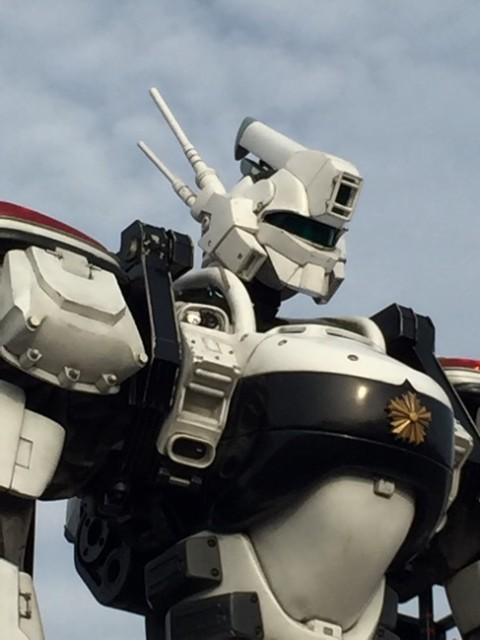 イオンタウン宇多津に降臨した「パトレイバー 98 式 AV イングラム」を見てきました〜。