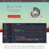 Windows, Linux, Mac で動作するテキストエディタ [ Atom ] を試してみました。