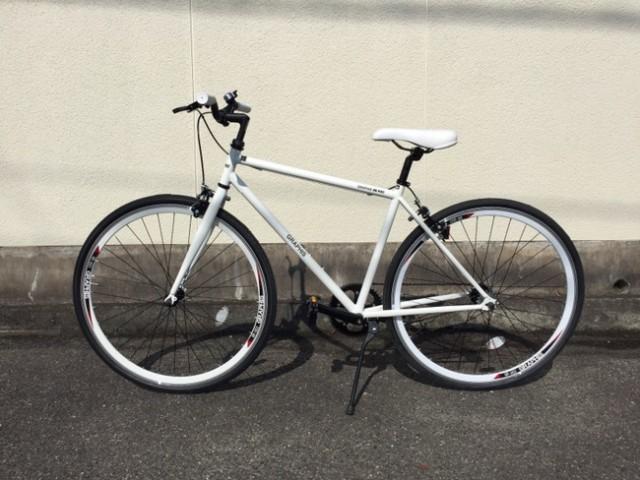 19,800円の激安ピストバイク [ GRAPHIS GR-003 ] 購入しました〜。