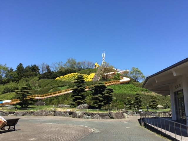 愛媛県四国中央市の「やまじ風公園」へ行ってきました~。(^^)