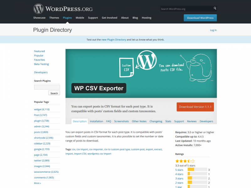 wp-csv-exporter